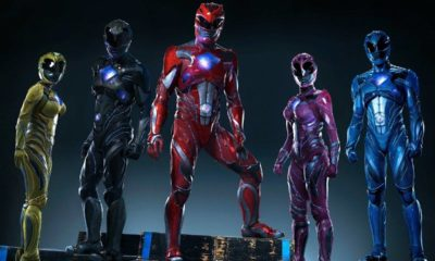 Uniformes dos novos Power Rangers são divulgados pela revista Entertainment Weekly