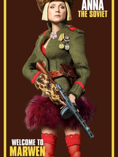 Cartazes dos personagens Bem vindo ao Marwen 02