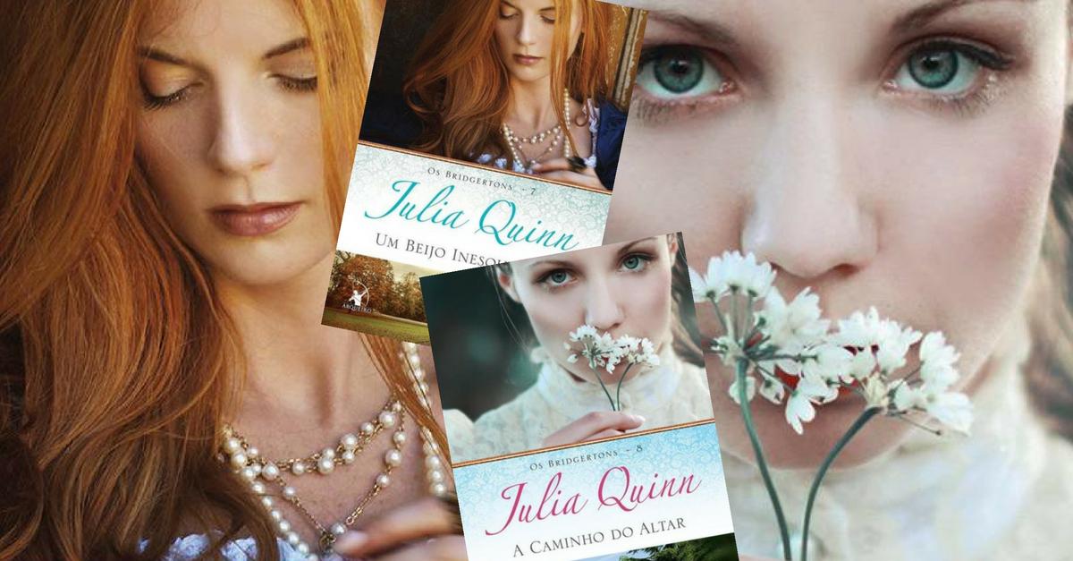 Resenha   Um Beijo Inesquecível 2F A Caminho do Altar Os Bridgertos 7 e 8 Julia Quinn