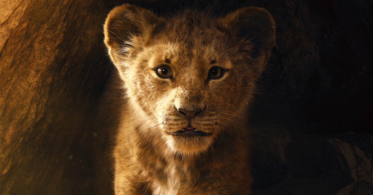 rei leão poster e trailer