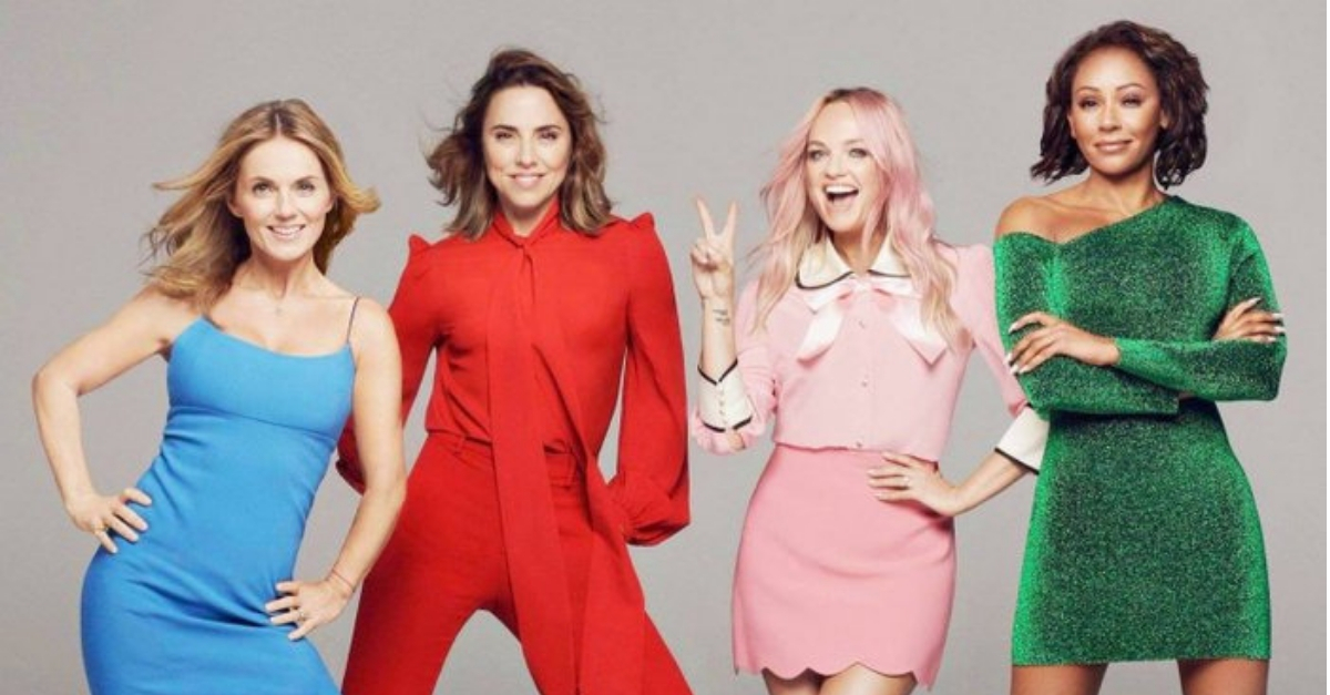 spice girls anunciam turne no reino unido