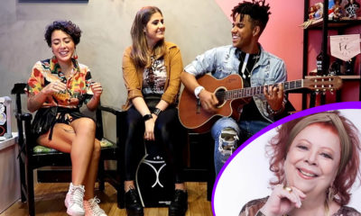 Mica Condé Vinicius DBlack e Roberta Espinosa fazem tributo à Beth Carvalho no Mica Sessions