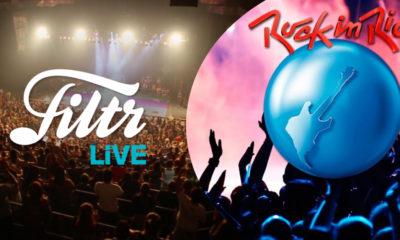 Filtr Live Levando novos talentos plataforma de entretenimento terá palco no Rock In Rio