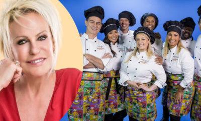 Valesca Popozuda Xande de Pilares e outros artistas participam do Super Chef Celebridades do Mais Você