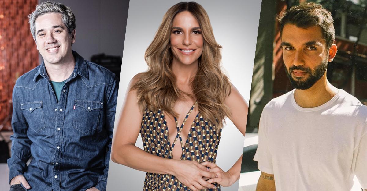 Amores Acústicos Multishow exibe show com Jota Quest Ivete Sangalo e Silva