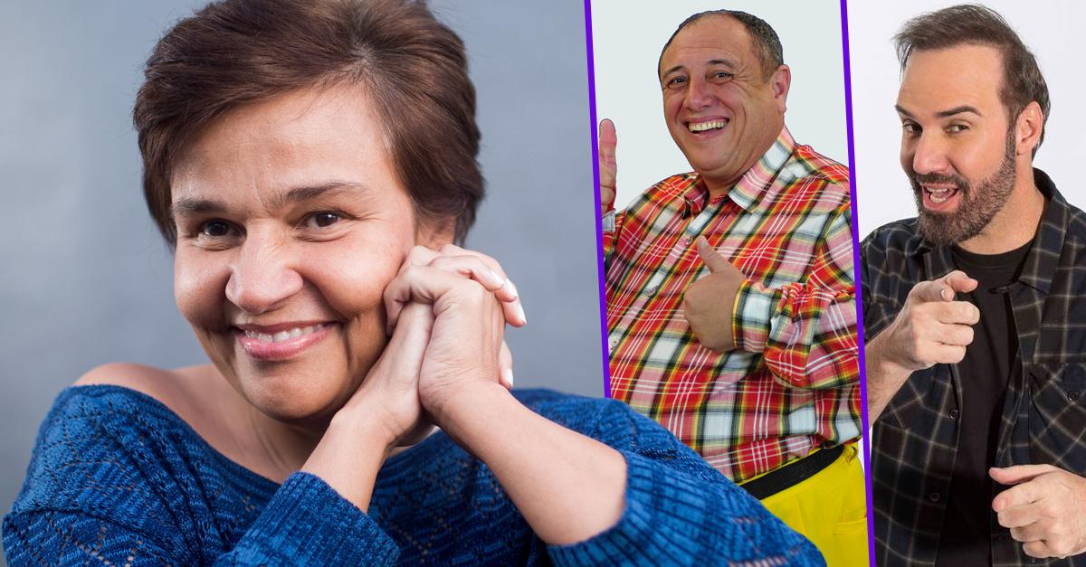 Claudia Rodrigues volta aos palcos após seis anos afastada ao lado e Nerso da Capitinga e Diogo Portugal