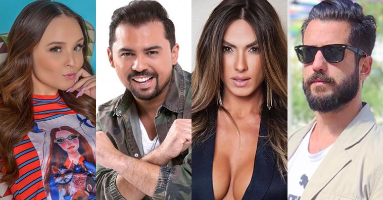 Larissa Manoela Xand Avião Nicole Bahls e FitDance apresentam o TVZ Ao Vivo