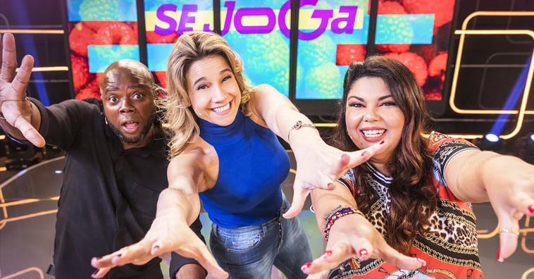 Se Joga Programa apresentado por Fernanda Gentil Érico Brás e Fabiana Karla ganha data de estreia. Foto Gshow Victor Pollak