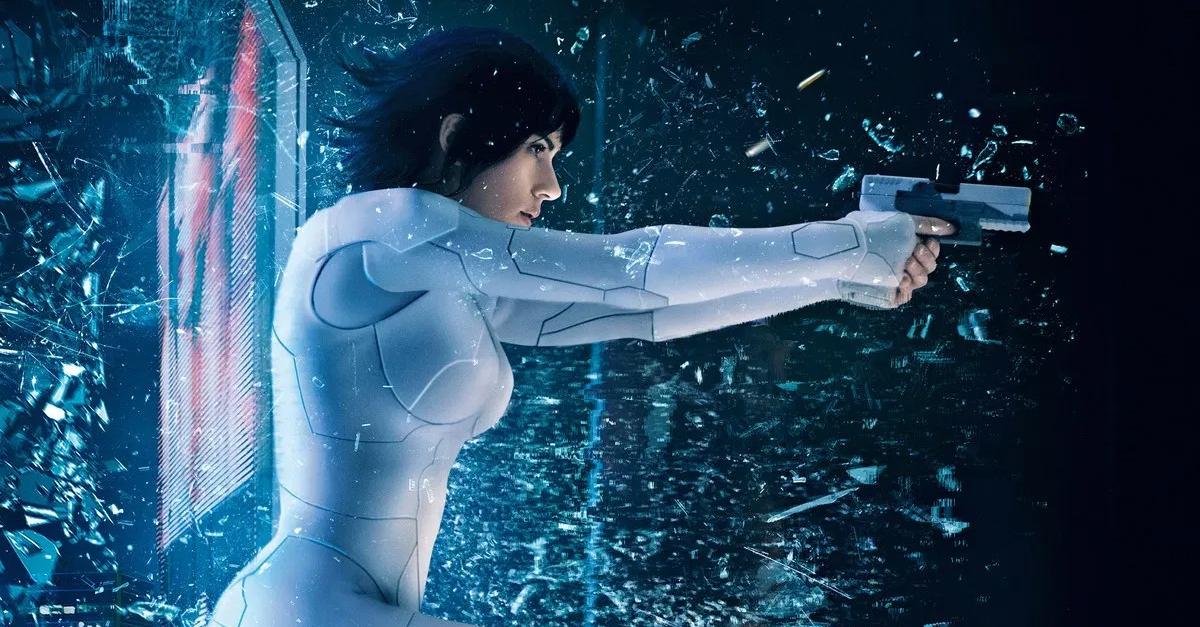 A Vigilante do Amanha Ghost in the Shell Scarlett Johansson